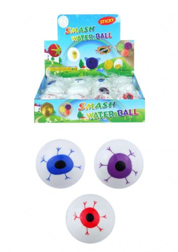 Eye Splat Ball (6cm) 3 Assorted Colours (Individual Price)
